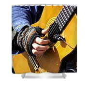 Strum Shower Curtain