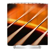 Strung Out Shower Curtain