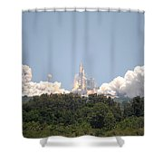 Sts-132, Space Shuttle Atlantis Launch Shower Curtain
