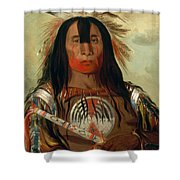 Stu-mick-o-sucks. Buffalo Bull's Back Fat. Head Chief. Blood Tribe Shower Curtain
