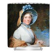 Stuart's Henrietta Marchant Liston Or Mrs. Robert Liston Shower Curtain