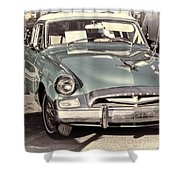 Studebaker 3 Shower Curtain