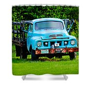 Studebaker Flatbed Truck Shower Curtain