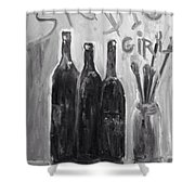 Studio Girl Shower Curtain