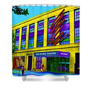 Studio Theatre Washington Dc Shower Curtain