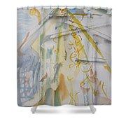 Studio With Kayoko Bird Shower Curtain