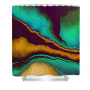 Study For Demagogic Purity Shower Curtain