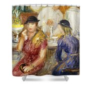 Study For The Soda Fountain Shower Curtain