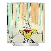 Stumble Shower Curtain