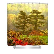 Stunning - Looks Like A Painting - Autumn Landscape  Shower Curtain