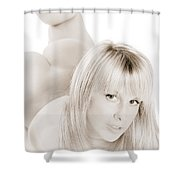 Stunning Beauty Shower Curtain