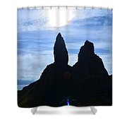 Stunning Old Man Of Storr Shower Curtain