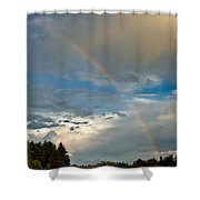 Stunning Rainbow Shower Curtain