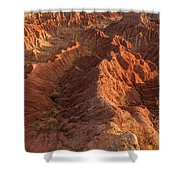 Stunning Red Rock Formations Shower Curtain