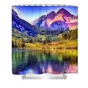 Stunning Reflections Shower Curtain