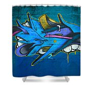 Stunning Wall Art Shower Curtain