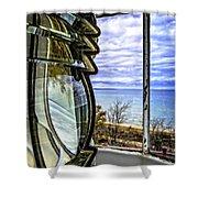 Sturgeon Point Lighthouse Shower Curtain