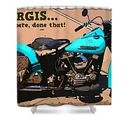 Sturgis Motorcycle Rally Shower Curtain