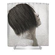 Su Shower Curtain by Taylan Apukovska
