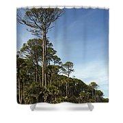 Sub Tropical Heaven Shower Curtain