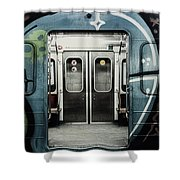 Sub-way Of Art II Shower Curtain