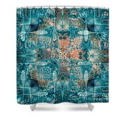 Subaqueous Shower Curtain