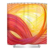 Sublime Design Shower Curtain by Kelly K H B