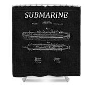 Submarine Patent 8 Shower Curtain