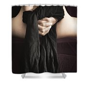 Submision Shower Curtain