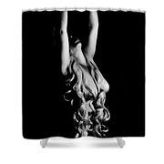 Succumbing Shower Curtain