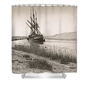 Suez Canal, C1895 Shower Curtain