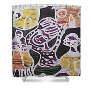 Suffering From Sickness Shower Curtain