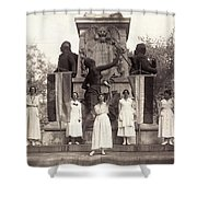 Suffragettes, 1918 Shower Curtain