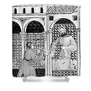 Sugar, 14th Century Shower Curtain