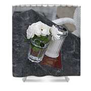 Sugar And Flowers Shower Curtain
