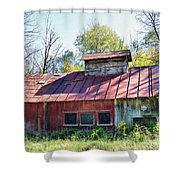 Sugar House Of Old Shower Curtain