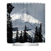 Sugar Icing Mountain Top Shower Curtain