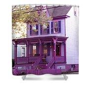 Sugar Plum Purple Victorian Home Shower Curtain