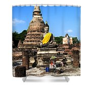Sukhothai Historical Park Shower Curtain