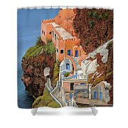 sul mare Greco Shower Curtain