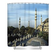 Suleymanhe Mosque, The Bizaar Quarter Shower Curtain