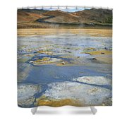 Sulphur And Volcanic Earth Shower Curtain
