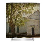 Sulphur Springs Methodist Church Shower Curtain