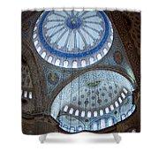Sultan Ahmed Camii Blue Mosque Istanbul Turkey Shower Curtain
