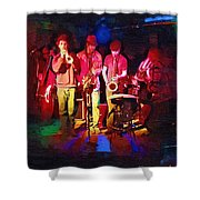 Sultans Of Swing Shower Curtain