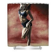 Sultry Dancer Shower Curtain