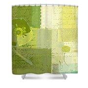 Summer 2014 - J103155155m04-green Shower Curtain