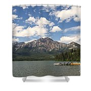Summer At Pyramid Lake Shower Curtain