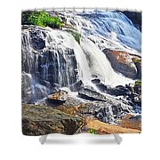 Summer At The Falls Shower Curtain