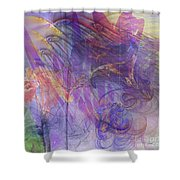 Summer Awakes - Square Version Shower Curtain